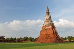 Thai pagoda in ayutthaya Royalty Free Stock Images