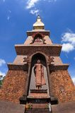 Thai pagoda. Royalty Free Stock Photos