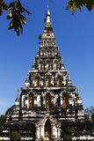 Thai Pagoda at Chiangmai Thailand Royalty Free Stock Photography