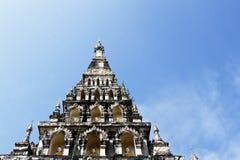 Thai Pagoda at Chiangmai Thailand Royalty Free Stock Images