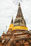 Thai pagoda Royalty Free Stock Photo