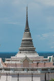 Thai pagoda on the hill Stock Image