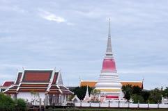 Thai Pagoda. Phra Samut Chedi,Thai Pagoda in Samut Prakan, near Bangkok in Thailand Royalty Free Stock Photos