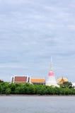 Thai Pagoda. Phra Samut Chedi,Thai Pagoda in Samut Prakan, near Bangkok in Thailand Stock Image