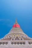 Thai Pagoda at Phra Samut Chedi in Samut Prakan, Thailand Royalty Free Stock Photography