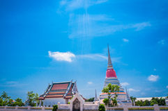 Thai Pagoda at Phra Samut Chedi in Samut Prakan, Thailand Royalty Free Stock Photography