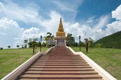 Thai pagoda, Promwihan Chedi Royalty Free Stock Photos