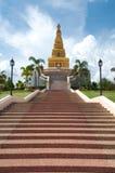 Thai pagoda, Promwihan Chedi Stock Image