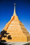 Thai pagoda. Pagoda,temple,chiangrai  in thailand Royalty Free Stock Photo