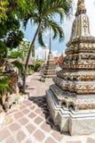 Thai Pagoda. Temple garden with pagodas. Bangkok, Thailand Royalty Free Stock Photo