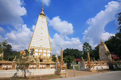 Thai pagoda at Wat Phrathat Nong Bua Stock Images