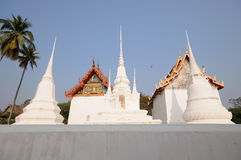 Thai pagodas Royalty Free Stock Photo