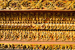Thai painting. In thai temple Royalty Free Stock Images