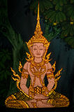 Thai painting Stock Images