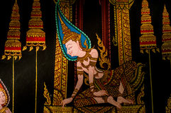 Thai painting Royalty Free Stock Image
