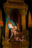 Thai painting Royalty Free Stock Photography