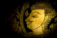 Thai painting Royalty Free Stock Photo