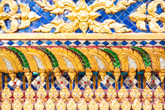 Thai painting texture Royalty Free Stock Images