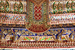 Thai painting texture Stock Photo