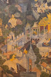Thai paintings Stock Photos