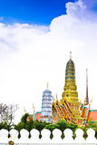 Thai Palace. Buddhist Temple of Wat Phra Kaew, Popular Tourist Attraction by the Grand Palace in Bangkok, Thailand Royalty Free Stock Photo