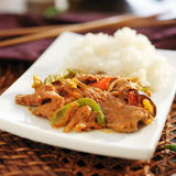 Thai panang beef curry Royalty Free Stock Photo