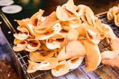 Thai pancake Royalty Free Stock Photo
