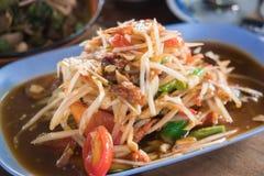 Som Tum. Thai papaya salad, Som Tum from Thailand Stock Images