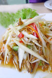 Thai papaya salad (Som Tum) Stock Photography