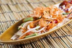 Thai Papaya salad Stock Photos