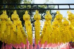 Thai Paper lanterns Stock Photo