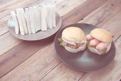 Thai paprika on white dish. On the table Royalty Free Stock Photos