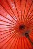 Thai paraply Arkivbilder