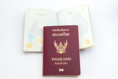 thai pass Arkivfoton