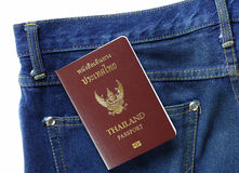 Thai passport Royalty Free Stock Image