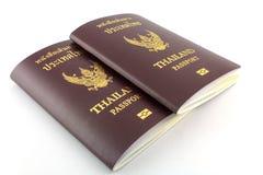 Thai passport Stock Image
