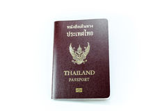 Thai Passport cover. New Thailand electronic passports front side Royalty Free Stock Image