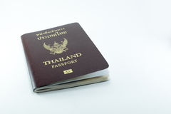 Thai Passport. New Thailand electronic passport's cover Royalty Free Stock Images
