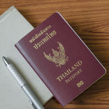 Thai passport Stock Images
