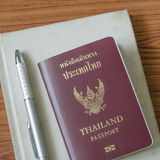 Thai passport Royalty Free Stock Photo