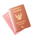 Thai passport Stock Image