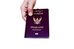 Passport thailand Royalty Free Stock Images