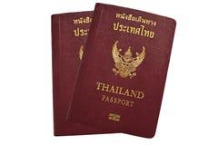Thai passport. On white background royalty free stock photos