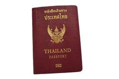 Thai passport. On white background royalty free stock images
