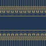 Thai patern 13. Thai patern moder blue stlys Vector Illustration
