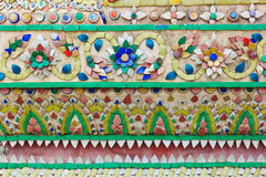 Thai patern wall Royalty Free Stock Photos