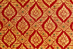 Thai pattern Stock Image