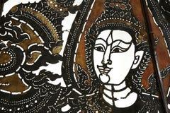 Thai pattern art from buffalo skin Stock Photography