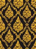 Thai pattern background Royalty Free Stock Image