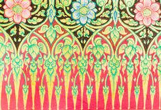 Thai pattern Royalty Free Stock Photo